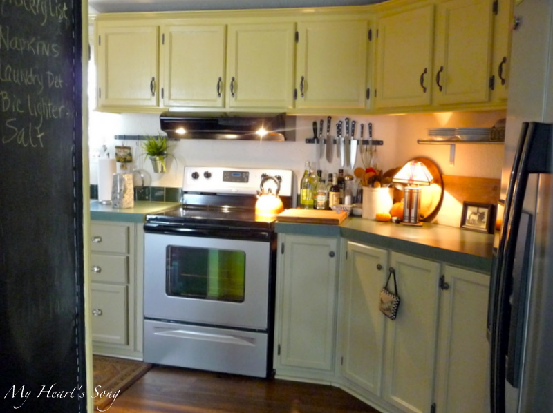 Magnificent single wide remodel part 2 geneva 39 s interview for Magnificent kitchens