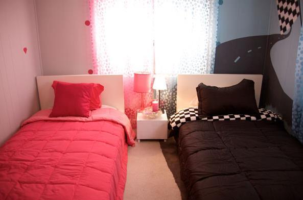 kids bedroom ideas - sharing a room