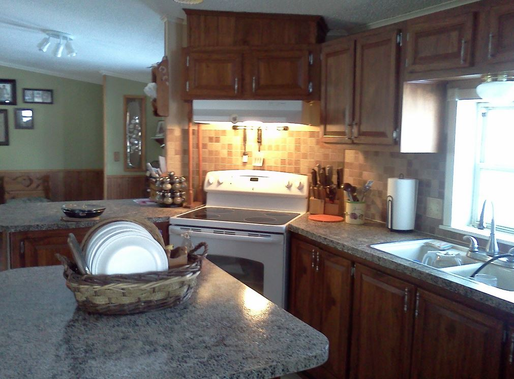Total double wide manufactured home remodel - Mobile homes kitchen designs ideas ...