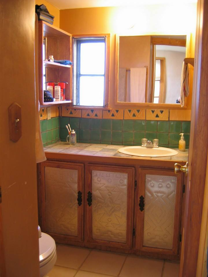 Traditional southwest mobile home decor mobile home remodel for Decorating a mobile home pictures