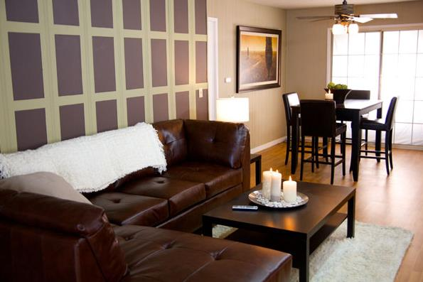 mobile home room ideas - living room
