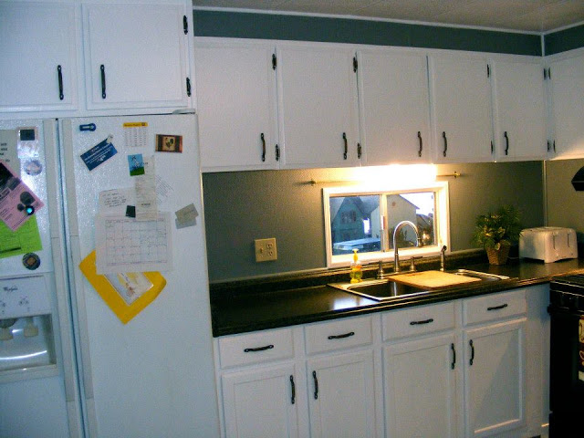 mobile home kitchen remodel after