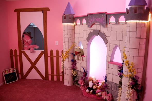 15 mobile home kids bedroom ideas for Kids princess bedroom designs