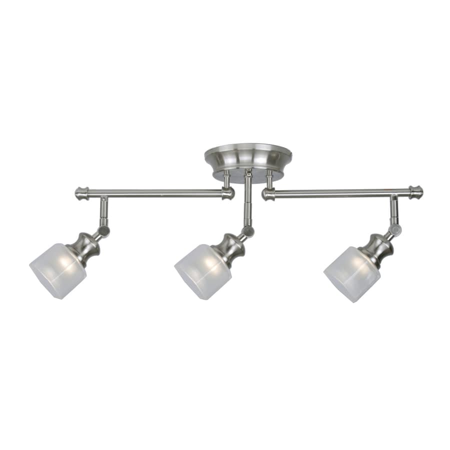 Sweet Allen Roth Brushed Nickel Fixed Track Light Kit Shop Allen Roth Brushed Nickel Fixed Track Light Lowes Flexible Track Lighting Lowes Track Lighting Allen Roth houzz-03 Lowes Track Lighting