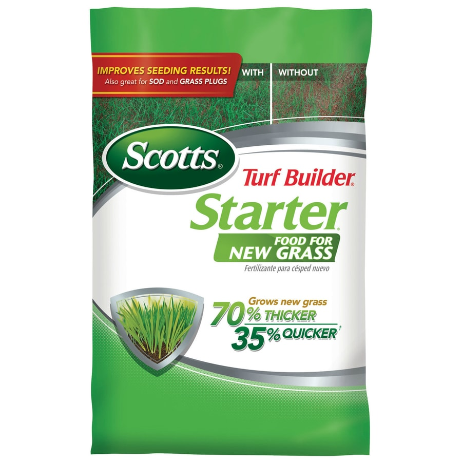 Fantastic Scotts Turf Builder Starter Food New Grass Ft Shop Lawn Fertilizer At Lowes Scotts Weed Feed Price Lowes Pennington Weed Feed houzz 01 Lowes Weed And Feed