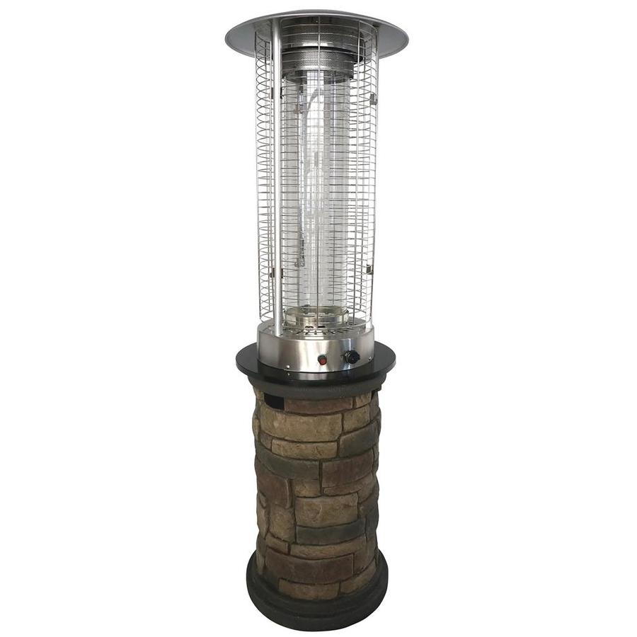 Cool Bond Stone Look Composite Standing Liquid Propane Patioheater Shop Gas Patio Heaters At Gas Patio Heater Lowes Gas Patio Heater Uk houzz-03 Natural Gas Patio Heater