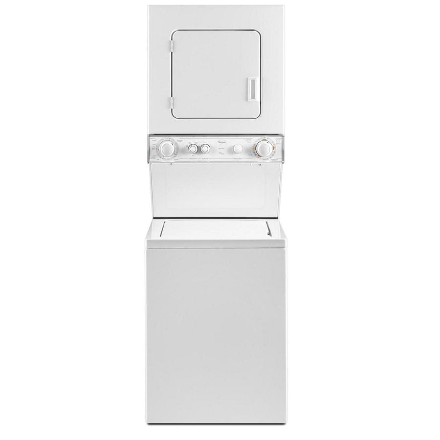 Affordable Dryer Closet Dimensions Shop Whirl Electric Stacked Laundry Center Ft Washer Stackable Washer Dryer Dimensions Canada Stackable Washer Ft Washer Whirl Electric Stacked Laundry Center houzz-03 Stackable Washer And Dryer Dimensions