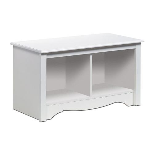 Medium Crop Of White Storage Bench