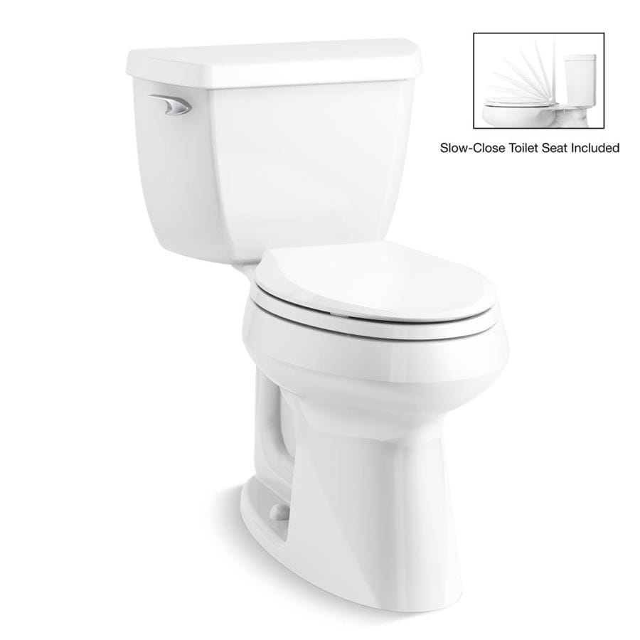 Fanciful Toilet Bowl 14 Inch Rough Toilets Sale Kohler Line Classic Watersense Labeled Elongated Chair Toilet Shop Toilets At 14 Inch Rough houzz-02 14 Inch Rough In Toilet