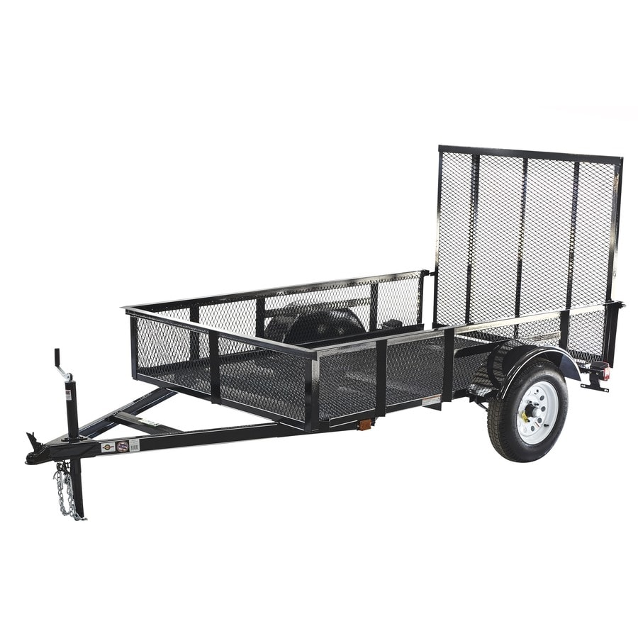 Breathtaking Shop Carry On Trailer Ft X Ft Wire Mesh Utility Trailer Murphy Wiring  Diagram Lowes Trailer Wiring Diagram