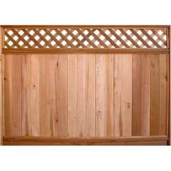 Small Of Lattice Fence Panels