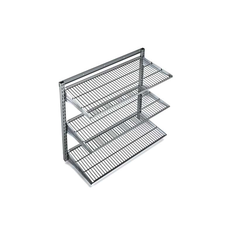 Large Of Metal Wall Storage Shelves
