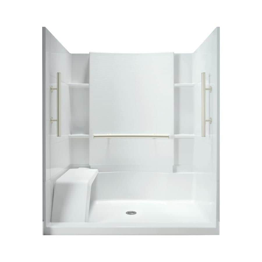 Attractive Accord Alcove Shower Kit X Shop Shower Stalls Enclosures At Garden Tub To Shower Conversion Kit Tub To Shower Conversion Kit Lowes houzz-03 Tub To Shower Conversion Kit