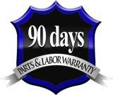 90 day parts and labor warranty with every Los Angeles auto repair