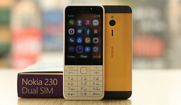 Nokia 230 goldplated