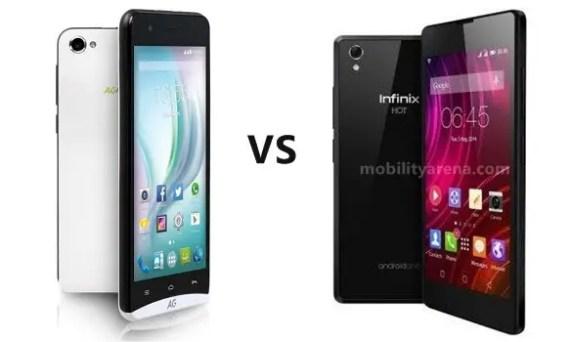 AG Style versus Infinix Hot 2