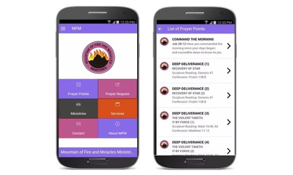 Mountain of Fire and Miracles Ministries mobile app