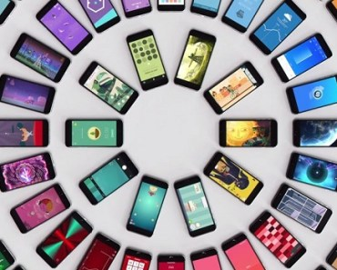 phones concentric circles