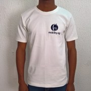 MOBILITY T-shirt White front