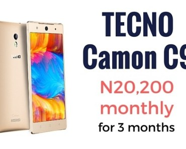 TECNO Camon C9 3-month plan