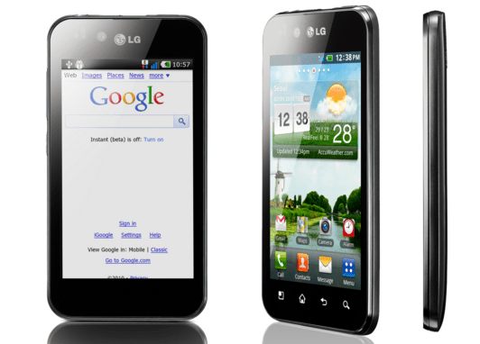LG Optimus Black P970 Akıllı Telefon
