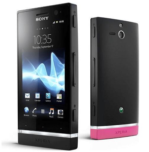 Sony Xperia U ST25i Akıllı Telefon