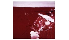 Julian Schnabel, Lola, 1989, Oil and gesso on velvet, 108 x 120 inches, Collection of the Museum of Contemporary Art, North Miami, Gift of Waddington Galleries Ltd., London in honor of Irma Braman