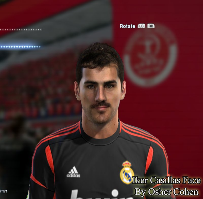 pes 2013 casillas face