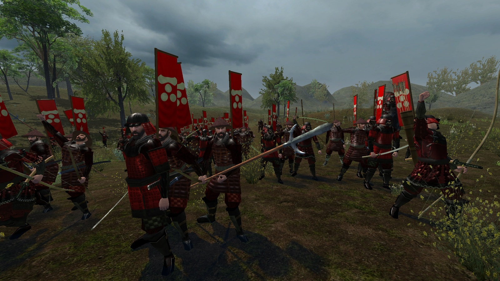 mount and blade shogun mod