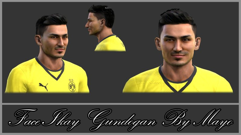 pes-2013-Face-Ikay-Gundogan-By-Mayo