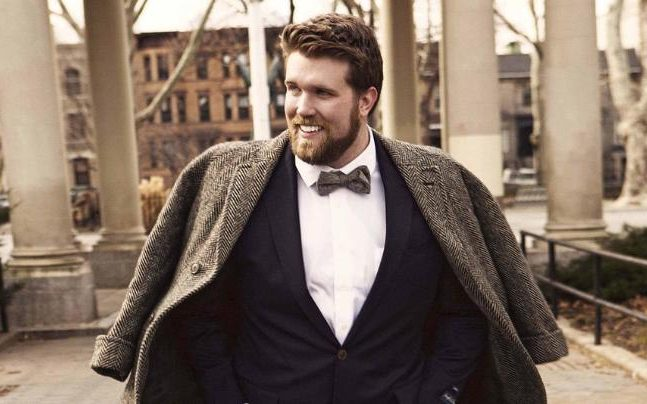 Meet Zach Miko, the first plus size male model
