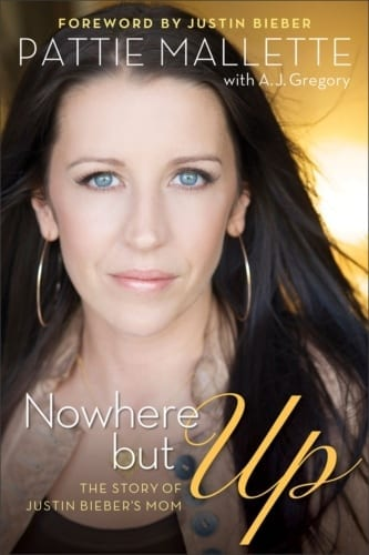 Revell to release Nowhere but Up: The Story of Justin Bieber's Mom, by Pattie Mallette. The book shares her inspiring personal story for the first time, of abuse and addiction that marked her early years. After a suicide attempt at seventeen, feeling she had no hope, she recounts the remarkable way her life finally turned around when she found herself pregnant and facing an uncertain future as a single mom. Through the book, Pattie will give back to women's homes and organizations, with the purpose to bring hope, help & inspiration. It is slated for release on September 18, 2012, with a foreword by Justin Bieber.(PRNewsFoto/Revell)