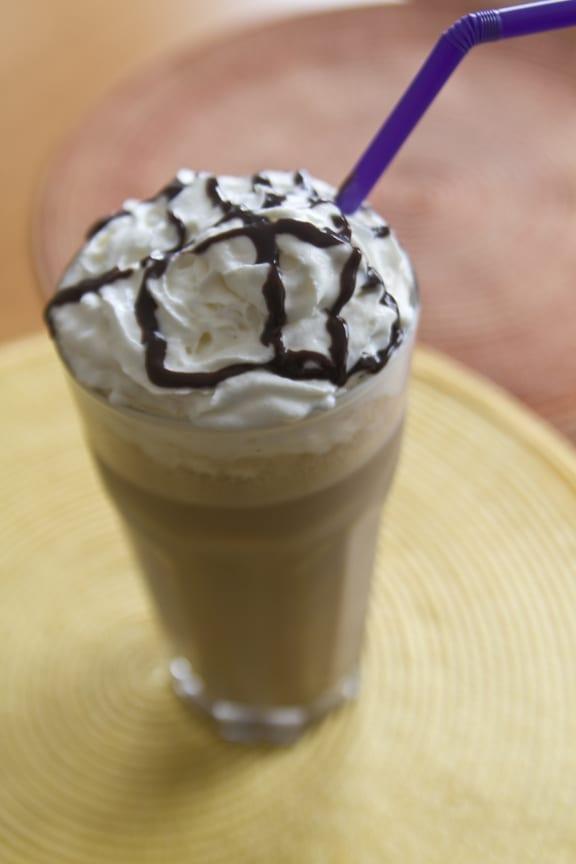 Banana-Rama Coffee Milkshake