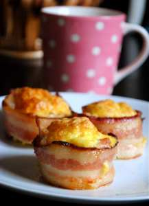 Bacon & Egg Breakfast Cups