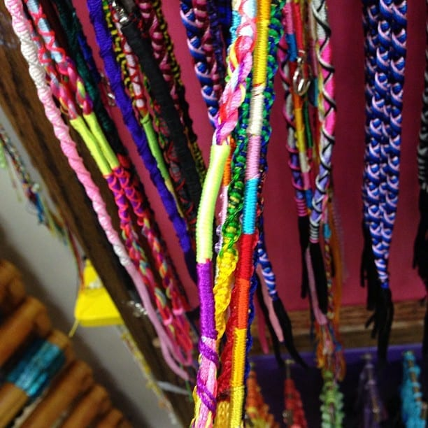 Did you ever make these growing up? I remember my sister making these bracelets all the time.