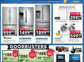 hhgregg - Black Friday Ad - Friday Doorbusters