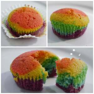 RainbowCupcakesCollage