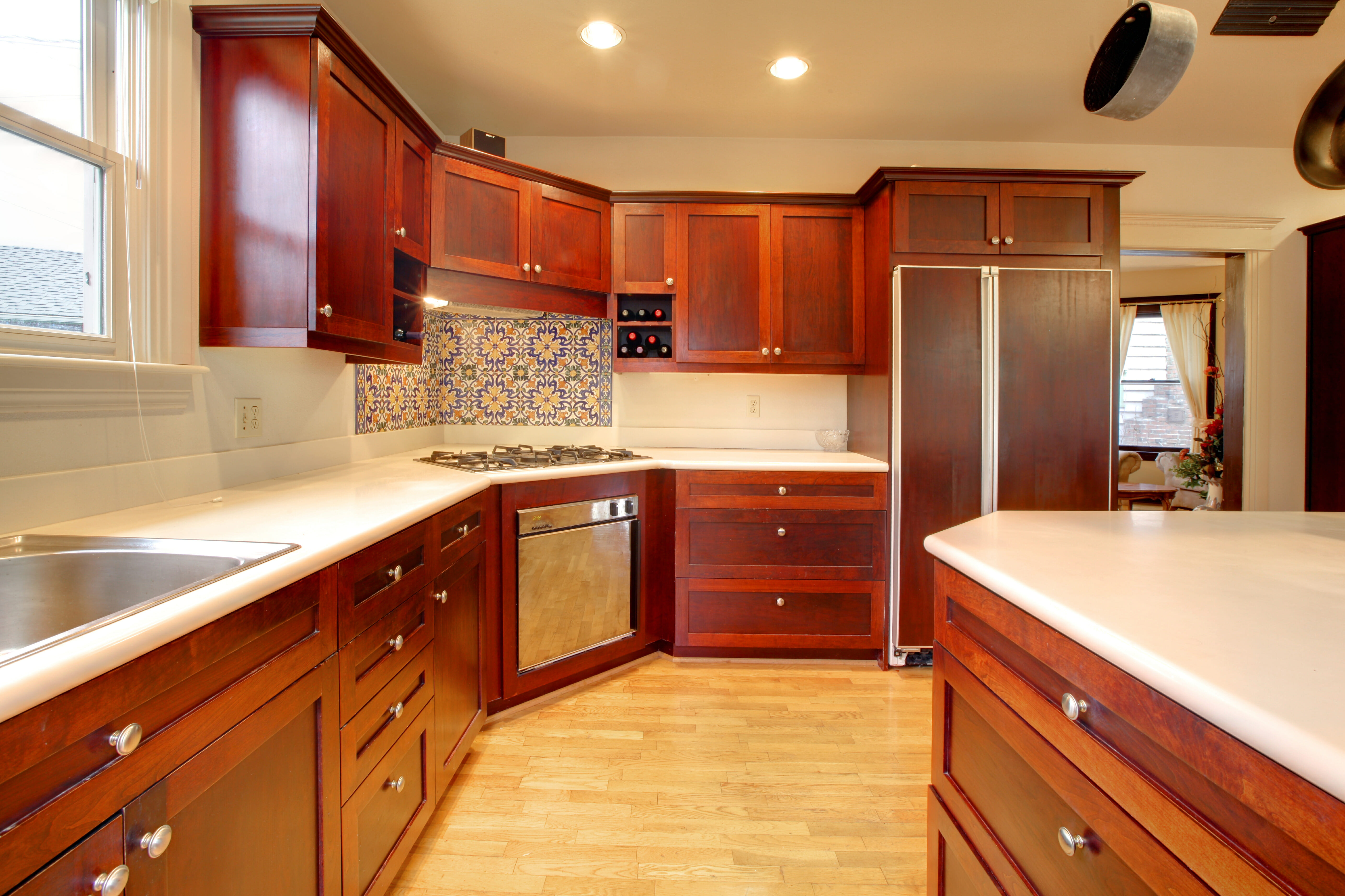 mahogany kitchen cabinets pictures of kitchen cabinets Mahogany Kitchen Cabinets