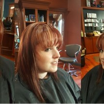 Color, Highlights, Cut and Blowdry