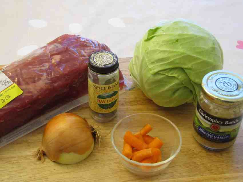 Monday Menu: Corned Beef and Cabbage {Vintage Recipe}