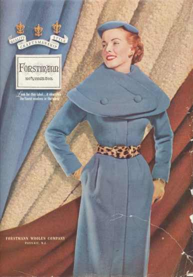 Forstmann 1953; Image courtesy of MyVintageVogue.com