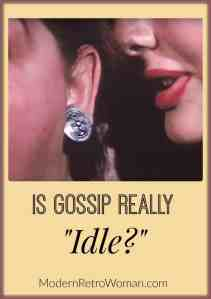 """Is Gossip Really """"Idle?"""""""