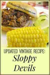 Sloppy Devils {Updated Vintage Recipe}
