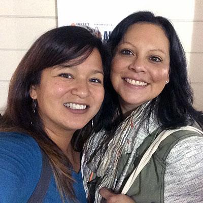 Agnes Perez & Anna Rivera