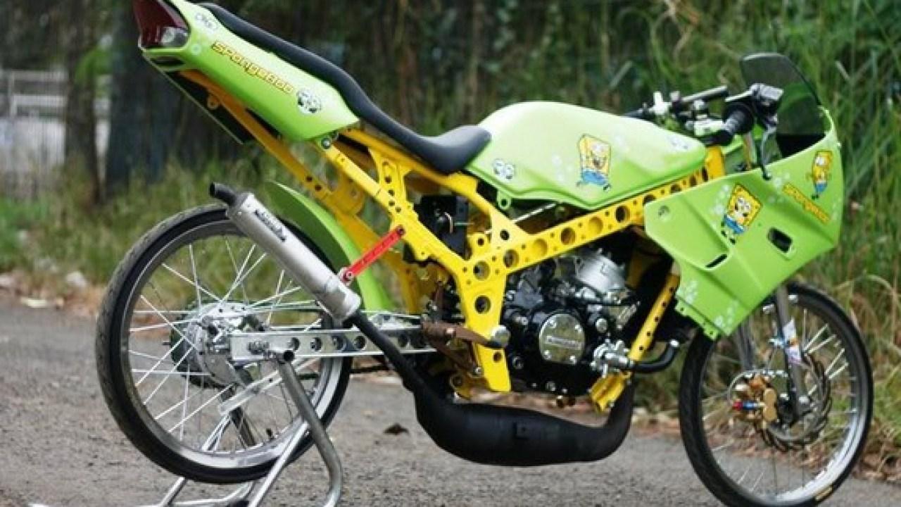 92 Gambar Motor Drag Mio Terkeren Ranting Modifikasi
