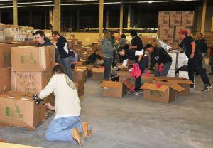 ModSpace Hurricane Sandy Relief Red Cross Volunteers