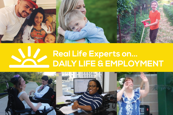 "Image: Reads ""Real Life Experts on Daily Life & Employment"" Banner with photos of Real Life Expert columnists"