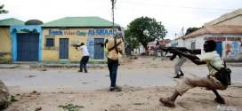 تبادل لاطلاق النار وسط مقديشو