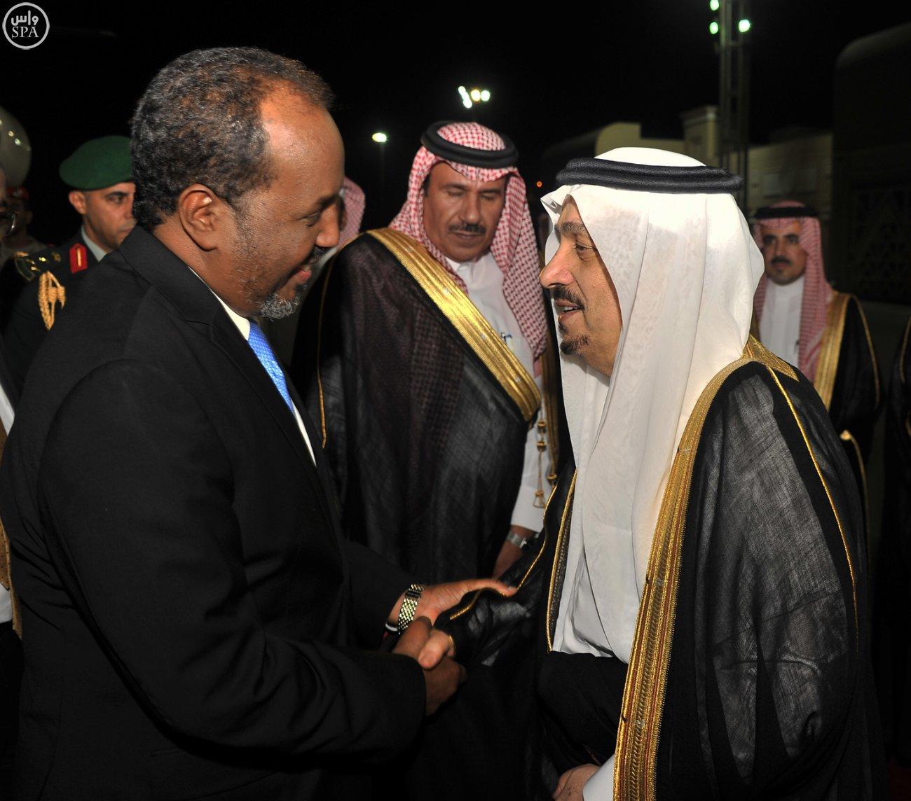 الرئيس-الصومالي-يصل-الرياض