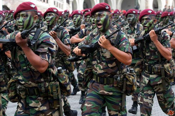 القوات الماليزية